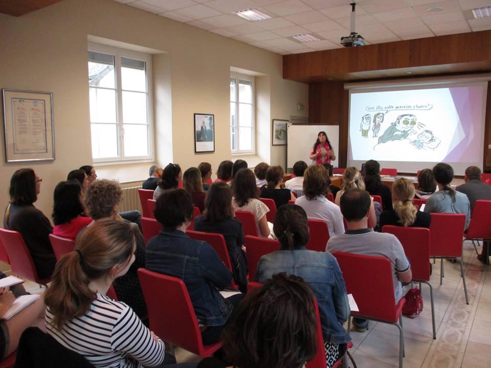 conference Sophie Burgaud Parentalite